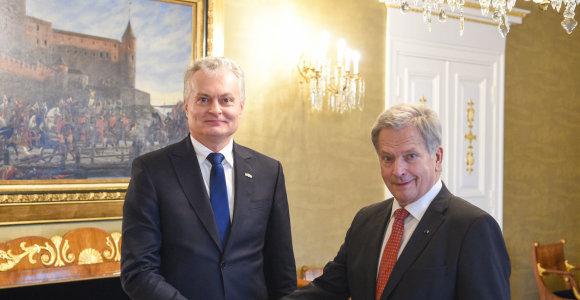 G.Nausėda kviečia Suomiją prisidėti užtikrinant Astravo elektrinės saugumą