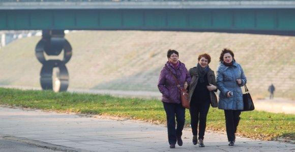 Savaitgalio orai: neįprasta lapkričio šiluma niekur nedings