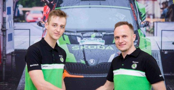 Kasparas Navickas ir Martynas Samuitis jungiasi į bendrą komandą