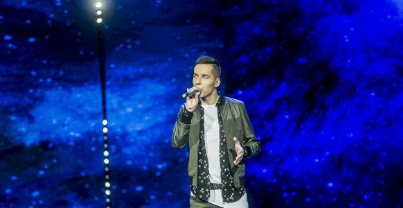 """Vietos """"Eurovizijoje"""" siekiančiam Gražvydui Sidiniauskui negalia – ne kliūtis"""