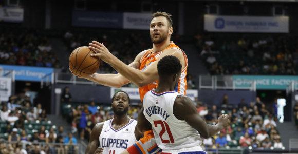 """Mače su """"Clippers"""" – Donato Motiejūno įspūdingi skaičiai, tik ne visi geri"""