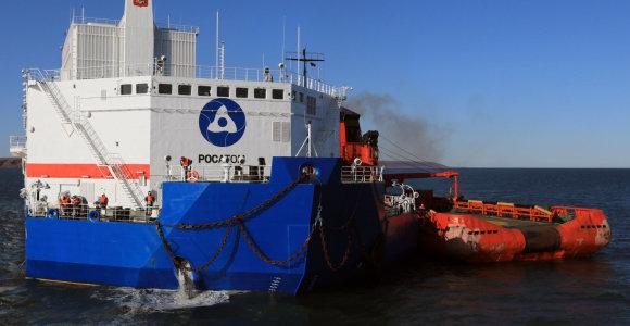 """""""Rosatom"""": Lotynų Amerikos šalis sudomino rusiškos plūduriuojančios AE projektas"""