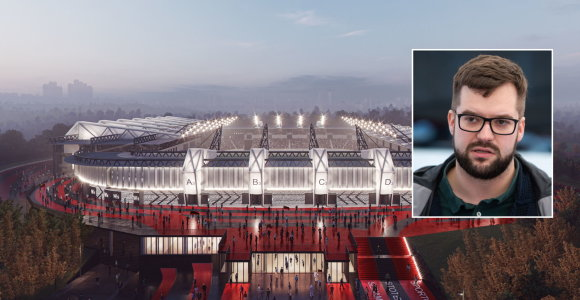 P.Poderskis alternatyvų nacionaliniam stadionui nemato – Naujoji Vilnia netinka