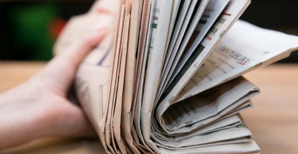 Spaudą skaito 71 proc. gyventojų, leidinių TOP trejetukas lieka nepakitęs