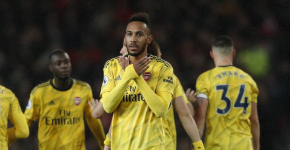 """""""Premier"""" lygos mėnesio geriausieji – """"Arsenal"""" puolėjas ir """"Liverpool"""" strategas"""
