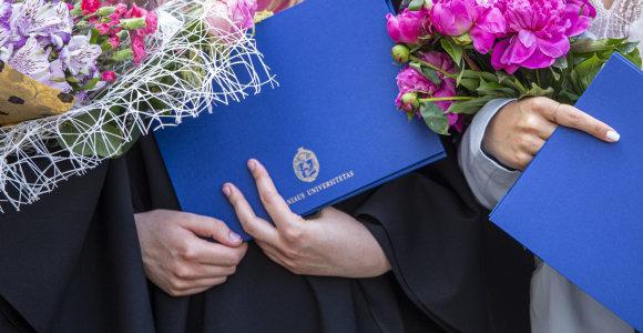 Mokslo metus Lietuvos aukštosiose mokyklose pradeda pirmakursiai