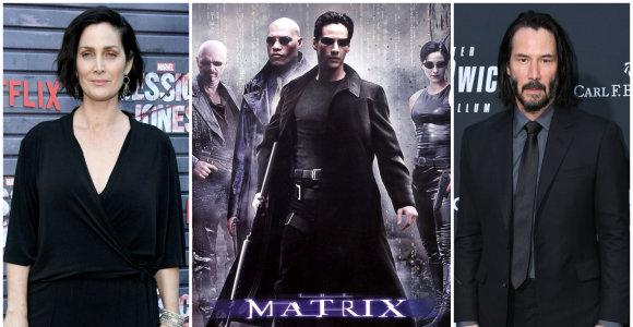 """Kultinio filmo """"Matrica"""" staigmena gerbėjams: bus kuriama ketvirta dalis su originaliomis žvaigždėmis"""