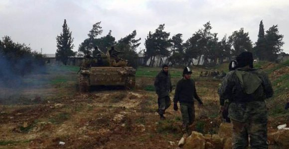 Sirijoje per JAV drono raketų smūgį nukauta 14 džihadistų