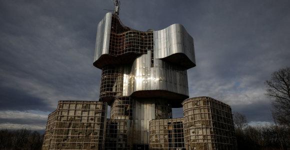 Fotogalerija: Jugoslavijos brutalizmo architektūra žavi instagramo kartą