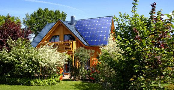 Saulės elektrinė ant nuosavo namo stogo – dabar su 3230 eurų kompensacija ir patikimu partneriu