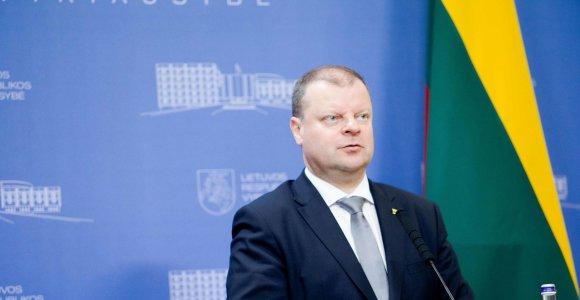 S.Skvernelis: migracijos sistemą būtina pertvarkyti
