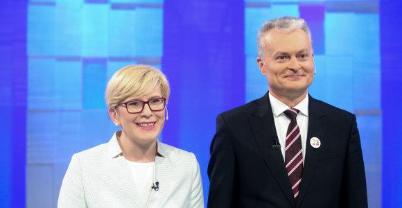 Seimo valstiečiai kvies Ingridą Šimonytę ir Gitaną Nausėdą kalbėtis apie paramą