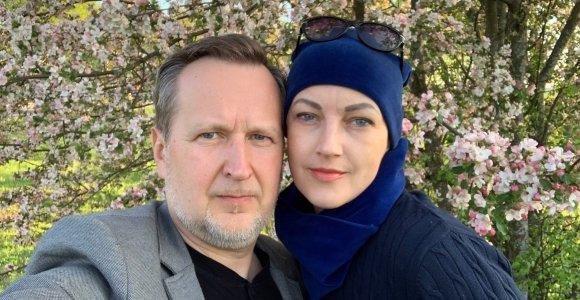 Prokuroras R.Valentukevičius pasidalijo 13 metų trukusia žmonos kova su vėžiu: noriu padėti kitoms