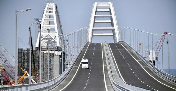 ES ir Jungtinė Karalystė paskelbė sankcijų Krymo tilto statytojams
