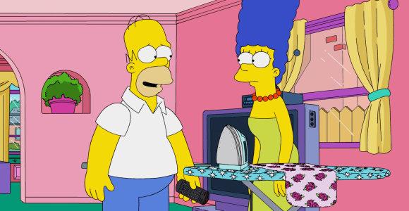 """Nori uždrausti """"Simpsonus"""" rodyti dieną: propaguojama daugpatystė ir alkoholis"""