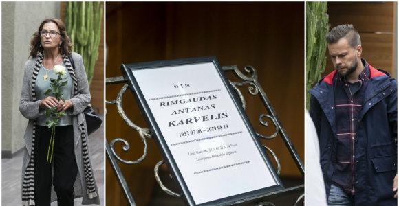 """Kolegos ir artimieji atsisveikina su scenos legenda Rimgaudu Karveliu: """"Mums tikrai jo trūks"""""""