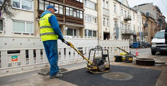 Neįprastai anksti: Kaunas skelbia gatvių tvarkymo sezono pradžią