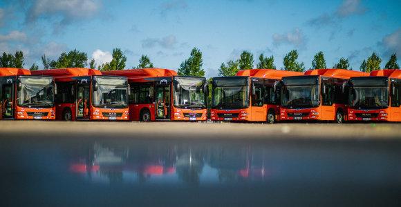 Dieną be automobilių į Vilniaus gatves išrieda 50 naujų autobusų