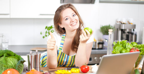 V.Kurpienės patarimas moterims, kurios nori keisti savo mitybos įpročius