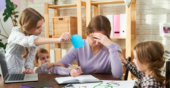 """Į vaiko teisių specialistus besikreipusi mama apstulbo išgirdusi: """"Paslėpėte vaikus ir atėjote prisipažinti?"""""""