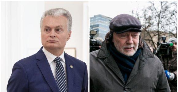 Prezidentas atleido K.Guriną iš Lietuvos apeliacinio teismo teisėjo pareigų