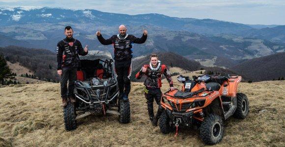 """""""CFMOTO Factory Racing Team"""" tapo gamykline komanda ir pristatė kitų metų startus"""