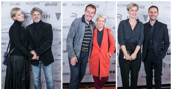 """Igno Jonyno filmo """"Nematoma"""" išankstinė premjera: raudonu kilimu žengė kviestiniai svečiai"""