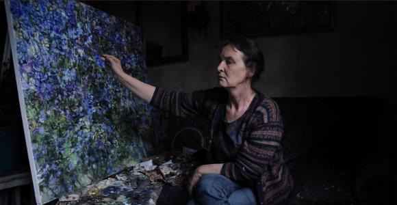 """Režisierė A.Marcinkevičiūtė apie tapytoją N.Saukienę: """"Tik iš žmogaus tas švytėjimas"""""""