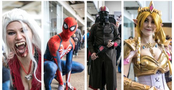 """Išradingumui nėra ribų: """"Comic Con Baltics"""" dalyvių stilius stebino net ir visko mačiusius"""
