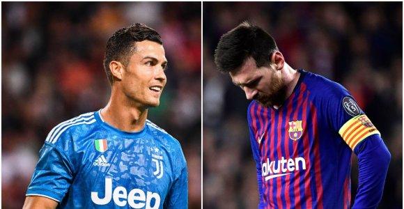 """C.Ronaldo nori daugiau asmeninių trofėjų nei L.Messi: """"Aš nusipelniau"""""""