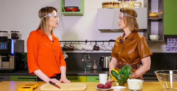 """Laidų ciklas """"Rūpinkis savimi"""": ką valgyti, kad jaustumės žvalūs ir išlaikytume norimą kūno svorį?"""