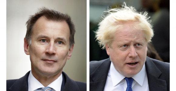 Didžiosios Britanijos lyderio posto siekiantis B.Johnsonas išdėstė savo planus