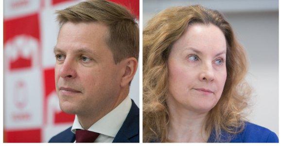 R.Šimašius A.Vaitkunskienę nori atleisti kaip praradusią jo pasitikėjimą ir prastą vadybininkę