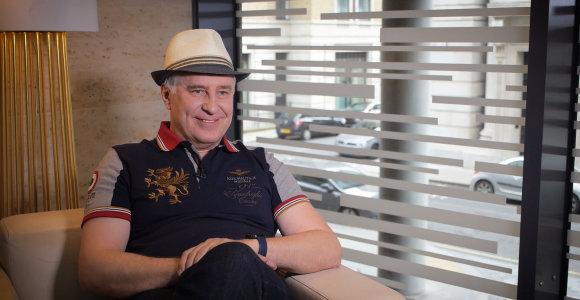 Iliuzionistas A.Stonys trejus metus laikosi mitybos, kuri jam padėjo suvaldyti vėžį be agresyvaus gydymo