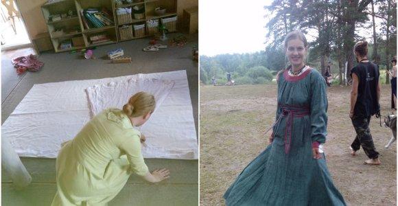 """Energiją saugančius drabužius siuvanti moteris dalinasi """"stebuklais"""", kurie vyksta atsisakius kelnių"""