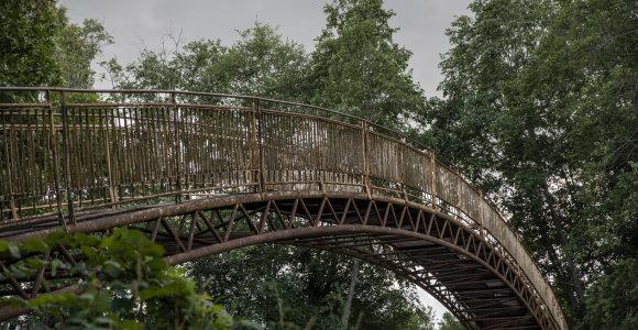 Ventos regioninis parkas: kokias paslaptis atskleidė upė?