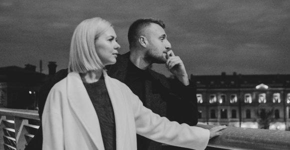 Išgirskite ir pamatykite: Kazimieras Likša ir Monika Linkytė pristato bendrą dainą