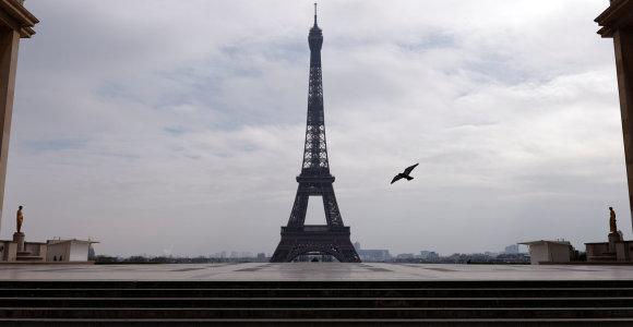 Karantinas Paryžiuje – žmonių nuotaikos ir ateities prognozė Europai