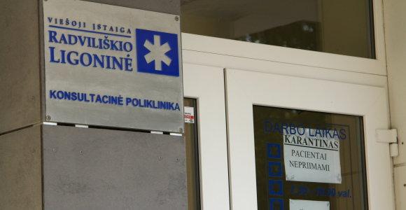 Radviliškio ligoninėje rastas negyvas senjoras, sirgęs COVID-19: įtariama savižudybė