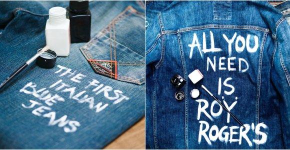 """Italijos džinsų įmonė """"Roy Rogers"""": mes papasakosime pasauliui apie jus"""