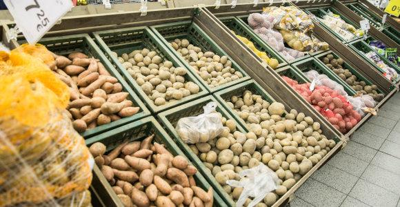 Tyrimas: labiausiai brangsta bulvės, o labiausiai pinga – obuoliai