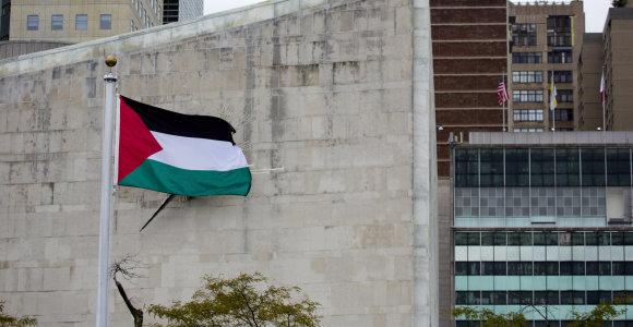 Palestiniečiai tikisi atstovybę Vilniuje atidaryti per porą metų, prašo Lietuvos pagalbos