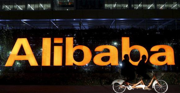 """""""Alibaba"""" Honkonge pristatė visiškai automatizuotą vyno parduotuvę"""
