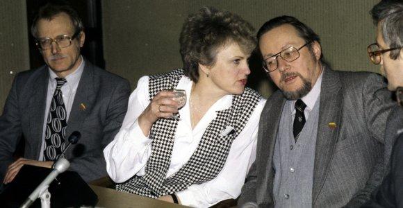 K.Prunskienę pas G.H.W.Bushą lydėjęs brolis: jam teko laviruoti, svarstant Lietuvos pripažinimą