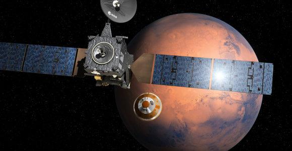 Buvęs NASA mokslininkas: gyvybės egzistavimas Marse galimai buvo aptiktas prieš 40 metų