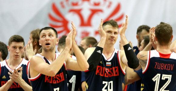 Rusijos rinktinė reabilitavosi dvikovoje su suomiais