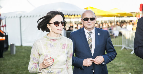 Visvaldas Matijošaitis ir Loreta Stonkienė