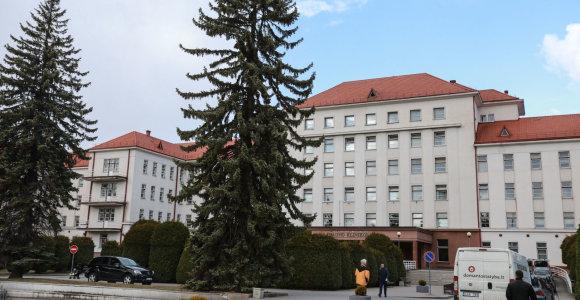 Koronaviruso užkluptos Kauno klinikos Centriniame korpuse atnaujina planinį darbą