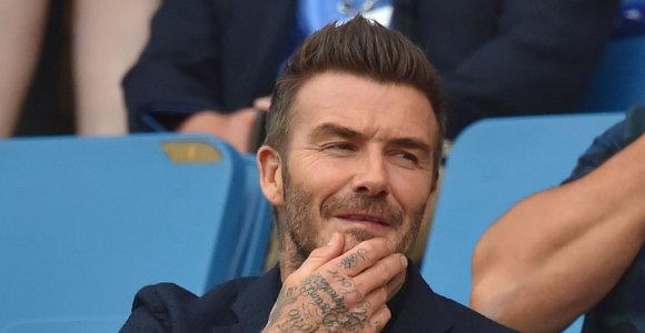 Į elektroninio sporto rinką žengė ir legendinis Anglijos futbolininkas Davidas Beckhamas