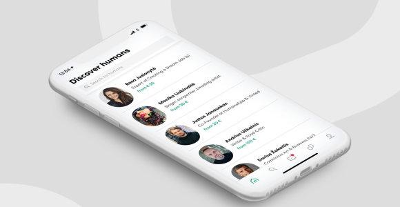 HumansApp: intelektinio santykiavimo miegamasis